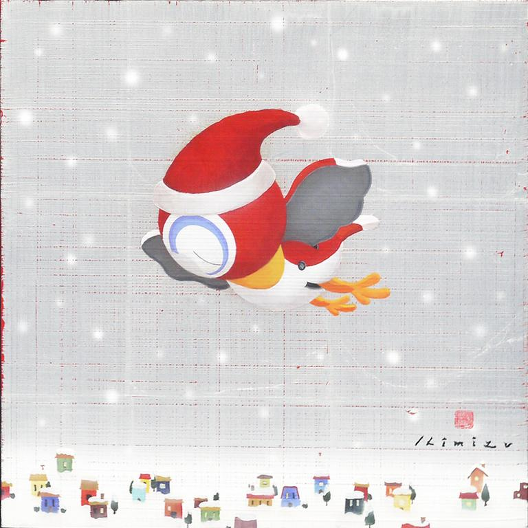 Flying santa Bridolly